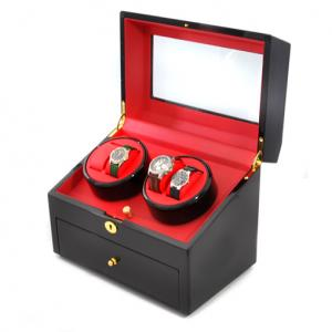 Vitrine Présentoir 10 montres Remontoir cuir