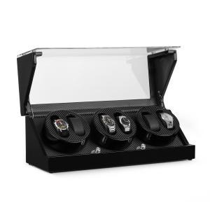 CA2PM Remontoir de luxe pour 4 montres 4 programmes - optique carbone