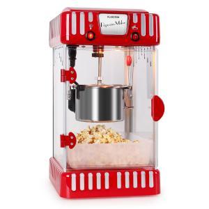 Volcano Machine à popcorn style rétro bol acier inox 74ml 300w Rouge