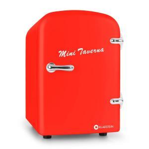 Mini Taverna réfrigérateur à boissons conservation chaud/froid 4l -rouge Rouge