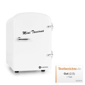 Mini Taverna réfrigérateur à boissons conservation chaud/froid 4l -blanc
