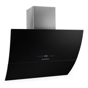 RGL90BL Hotte aspirante sans tête 90cm 550m³/h verre minuterie - noir Noir | 90