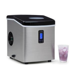 Mr. Black-Frost Machine à glacons 150W acier 15kg