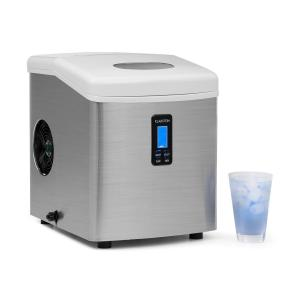 Mr. Silver-Frost Machine à glacons 150W acier 13kg Blanc