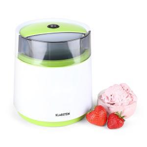 Bacio Verde Machine à crème glacée 0,8Ll vert & blanc Vert