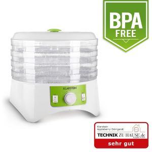 Appleberry Deshydrateur 400W 4 étages sans BPA -blanc/vert