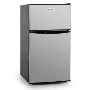 Big Daddy Cool frigo 80L classe A+ acier noir Argent |
