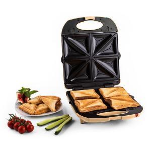 Trinity Sandwich Maker 3-en-1 XXL 1300 W -crème Crème