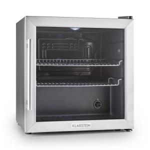 Beersafe L Réfrigérateur 50 litres Classe B Porte en verre Acier Argent |