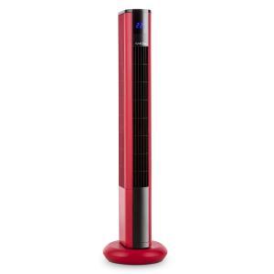 Skyscraper 3G ventilateur tour panneau tactile télécommande rouge Rouge