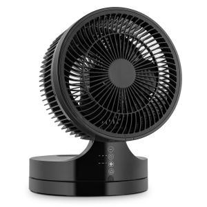 Touchstream Ventilateur de table silencieux Ø 25cm 3 vitesses -noir Noir