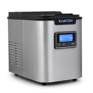 Icemeister Machine à glaçons 12kg/24h Acier -noir Noir
