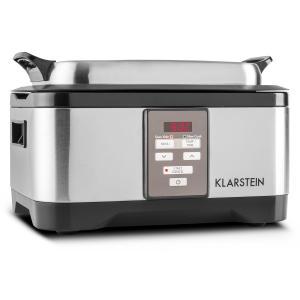 Tastemaker Cuiseur sous-vide Slow Cooker 6L 550 W -acier argent Argent
