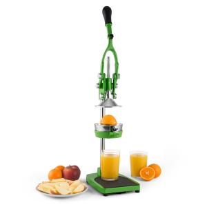 TriJuicer Presse-fruits à levier Coupe-frites Coupe-fruits -vert Vert