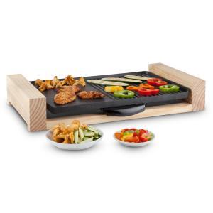 Lumberjack Barbecue électrique de table 2300W - bois rustique