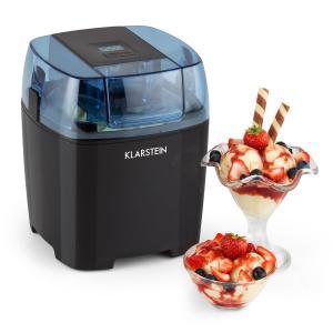 Creamberry Machine à glace Bac isotherme Machine à frozen yogourt 1,5L noir Noir