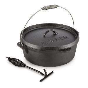 Hotrod 60 Cocotte BBQ 6 qt/ 5,7 litres Fonte - noir