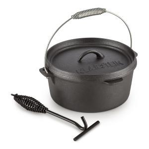 Hotrod 85 Cocotte pour BBQ 9qt / 8,5 litres Fonte - noir