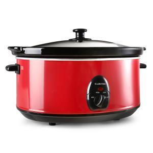 Bristol 65 Mijoteuse cocotte 6,5 Litres cuisson lente 300W - rouge Rouge