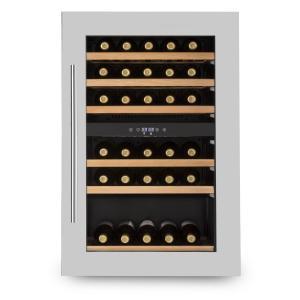 Vinsider 35D Cave à vin encastrable 128L 41 bouteilles porte inox