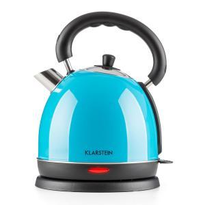 Teatime Bouilloire théière électrique 1850w 1,8 litres inox - bleu Bleu
