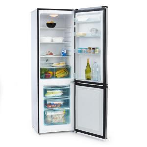 Big Mommy Cool Réfrigérateur congélateur 300 L 205kWh/an Classe A++ Argent | 300