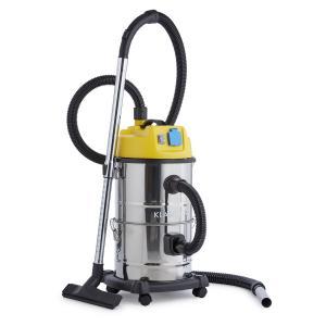 Reinraum Aspirateur 3 en 1 sec et humide 1800 W 30l Inox