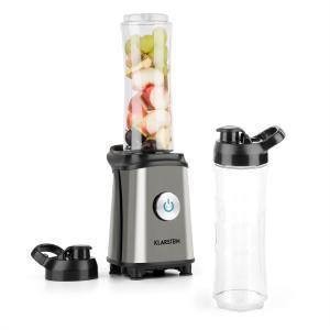 Tuttifrutti Mini-Mixeur 350 W 800 ml Lames en croix Sans BPA - métallique Argent