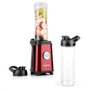 Tuttifrutti Mini-Mixeur 350 W 800 ml Lames en croix Sans BPA - rouge Rouge