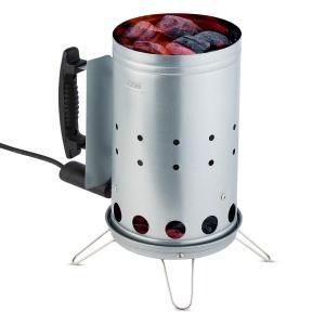 Fegefeuer Allume-charbon de bois électrique barbecue 350W - acier inox