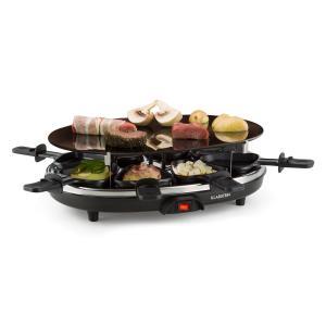 Blackjack Appareil à raclette grill 8 personnes verre céramique acier