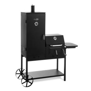 Barbecue au charbon de bois jardin Smoker Fumoir BBQ Grill acier