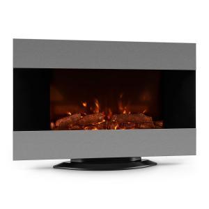 Basel Cheminée électrique 2000W Ventilateur chaud LED Télécommande