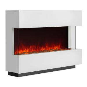Studio-1 Cheminée électrique Simulation de flammes 750/1500 W 40 m² - blanc