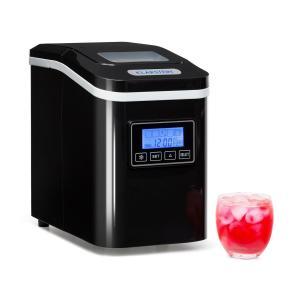 Lannister machine à glaçons machine à glace 10 kg/24 h Écran Timer - noir Noir