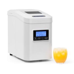 Lannister machine à glaçons machine à glace 10 kg/24 h Écran Timer - blanc Blanc