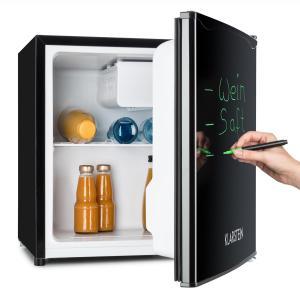 Réfrigérateur 40L A+ 2 étagères bac à glace congélateur marqueur - noir Noir |