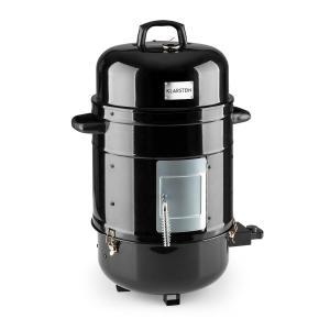 Barney Barbecue électrique Smoker 1800W 3x40cm Thermomètre