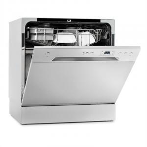 Amazonia 8 Mini Lave-vaisselle de table 6 programmes 1620W A+ gris
