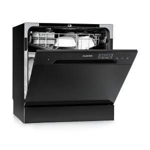 Amazonia 8 Mini Lave-vaisselle de table 6 programmes 1620W A+ noir Noir
