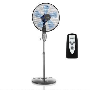 Summerjam Ventilateur colonne 41 cm 50W 69,18 m³/min 3 vitesses - gris Gris