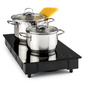VariCook Domino Plaque cuisson double induction 3100W Vitrocéramique