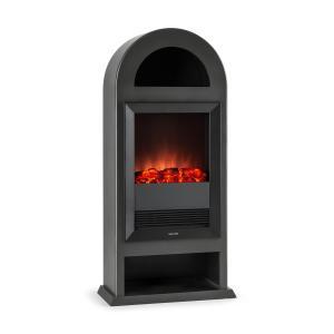 Blockhouse Cheminée électrique pose libre chauffage > 2000W - noir