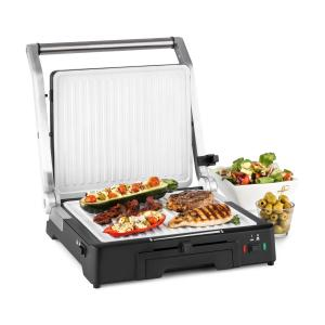 Burgermeister 3en1 Barbecue grill de table presse à panini 2000 W