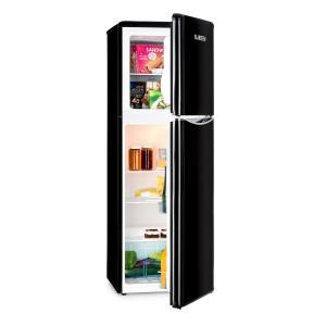 Monroe XL Black combiné réfrigérateur congélateur 97/39ll A+ look rétro noir Noir