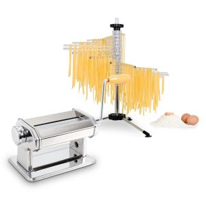 Pasta Set machine à pâtes Siena inox & séchoir à pâtes Verona