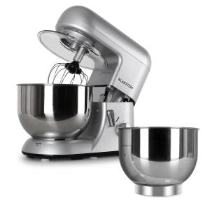 Bella Argentea Set complet Robot de cuisine + récipients - argenté