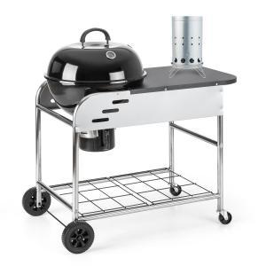 Set XXL Barbecue charbon de bois BBQ Smoker + allume-feu électrique
