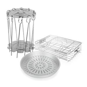 VitAir Set d'accessoires 3 éléments en inox & aluminium moulé