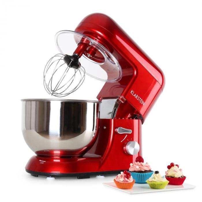 Bella rossa robot de cuisine 1200w 5 litres rouge rouge - Robot electrique cuisine ...